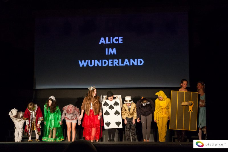 Kindertheater: Alice im Wunderland