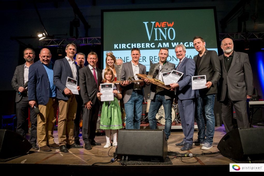 NewVino Wagram 2017: Große Weine, strahlende Sieger und rauschendes Fest