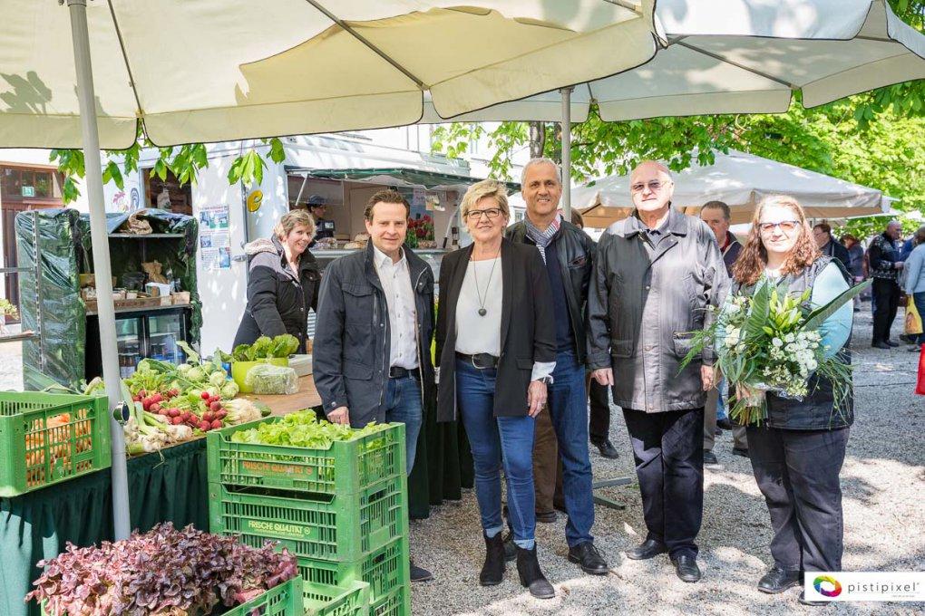 Naschmarkt Kirchberg am Wagram Saison 2017 eröffnet