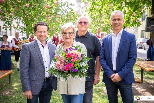 Naschmarkt Kirchberg am Wagram zum 15. Mal eröffnet
