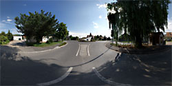 Der Kreisverkehr Engelmannsbrunn Foto: Jürgen Pistracher